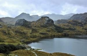 El Parque Nacional El Cajas