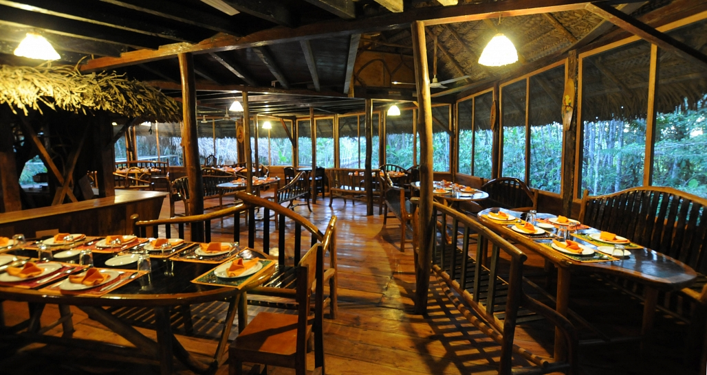 Sacha Lodge_napo_restaurant