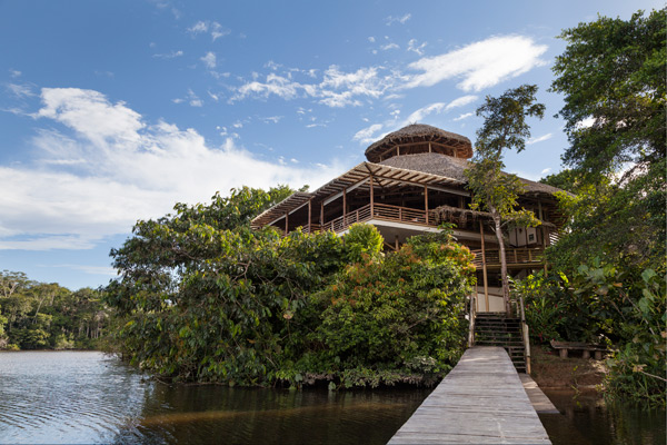 la selva lodge_entrnce-2